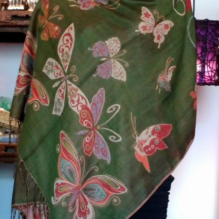 pashmina_butterfly_green_frontview_rds