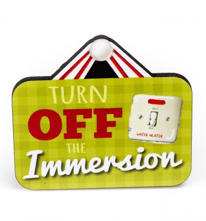 Turn off the Immersion