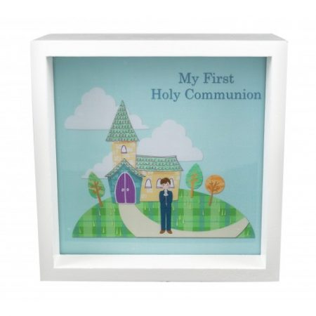 Boys Communion  Light Up Box