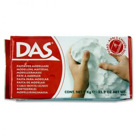 Das 1kg White Air Hardening Clay