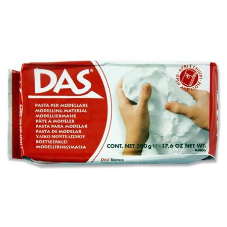 Das 500g White Air Hardening Clay
