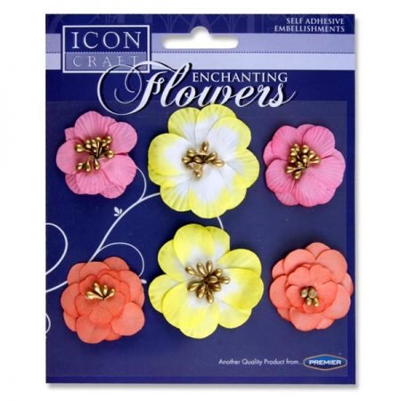 Icon Craft Enchanting Flower Embellishments
