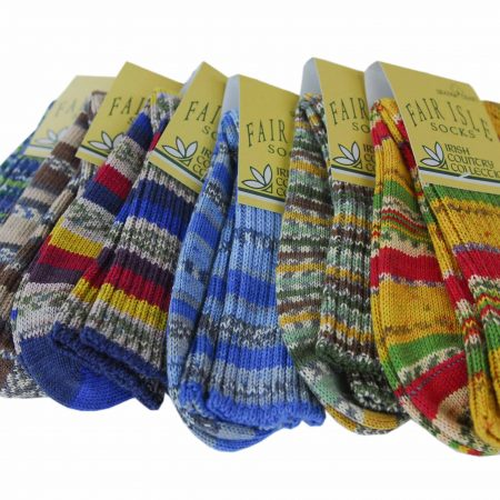 Fairisle Mens Socks