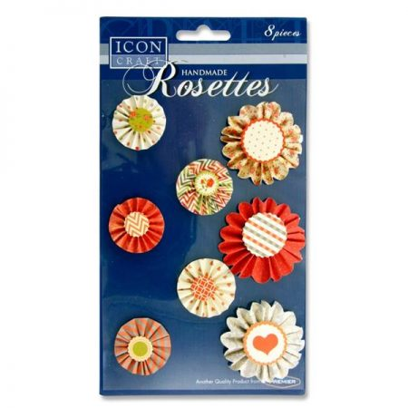 Icon Craft Handmade Rosettes Embellishments
