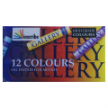 Inscribe Gallery set 12 Artists Oil Pastels