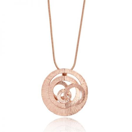 Ares Rose Gold Necklace