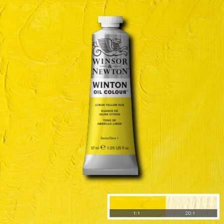 Winsor & Newton Winton Oil Colour Lemon Yellow Hue