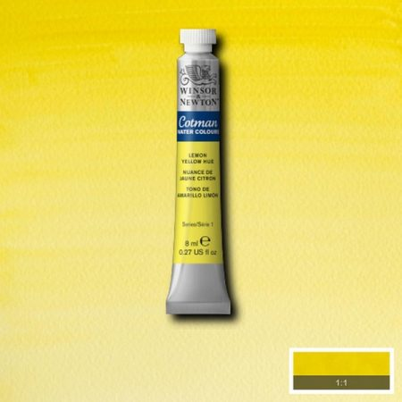 Winsor & Newton Cotman Watercolour Lemon Yellow
