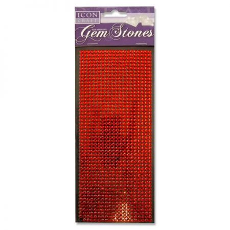 Icon Craft Large Pack Red Gem Stones