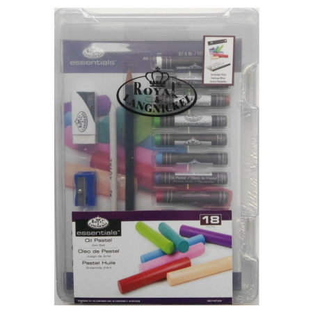 Royal & Langnickel Essentials Oil Pastel Art Set