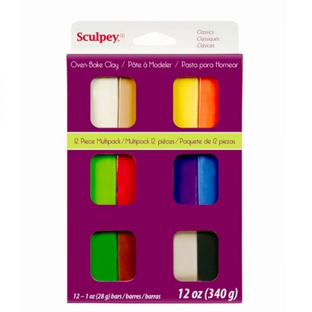 Sculpey Set Classic Colours Clay