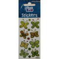 Stickerboo Green Butterfly Stickers