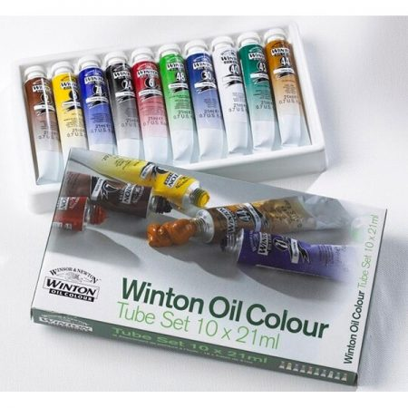 Winsor & Newton Winton Oil Colour 10 Tube Set