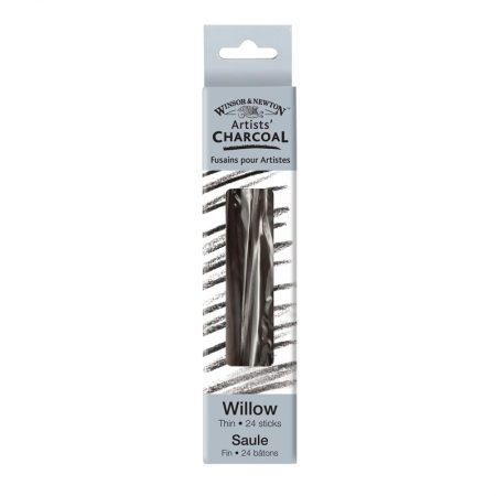 Winsor & Newton Artists Charcoal 24x Thin Willow