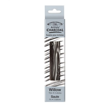 Winsor & Newton Artists Charcoal 3x Thin Willow
