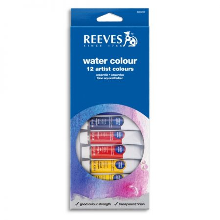 Reeves Water Colour 12 Tube Set