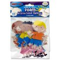 Crafty Bitz Foam Stickers - International Children