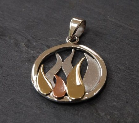 Bealtaine Flame Pendant