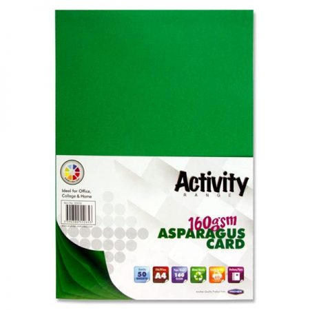 Premier A4 Asparagus Activity Card