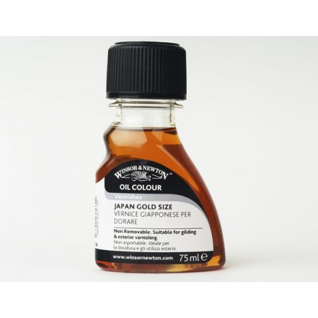 Winsor & Newton Oil Colour Varnishes - Japan Gold Size