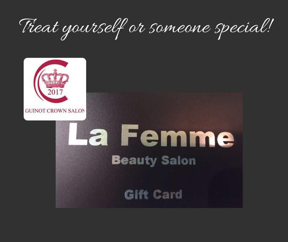 La femme beauty salon gift voucher estreet la femme beauty salon gift voucher solutioingenieria Image collections